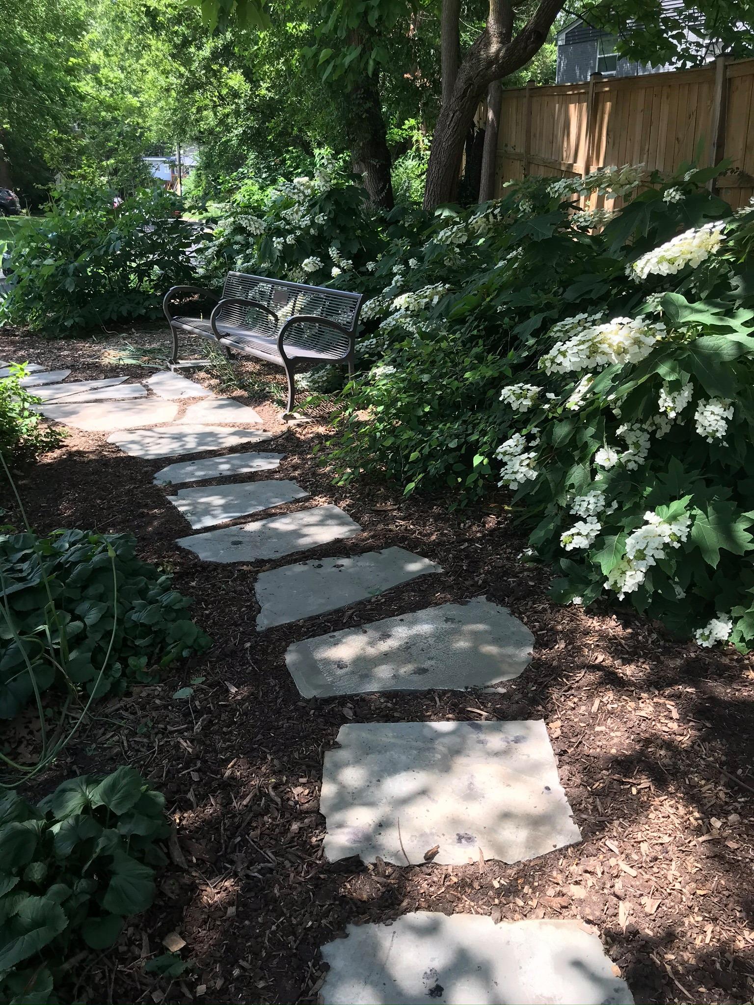 Centennial Garden path