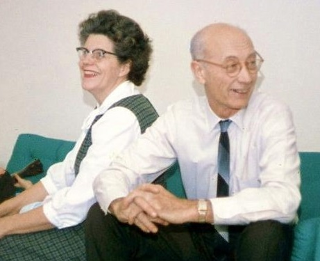 Catherine and Clarence Casey - 1960s