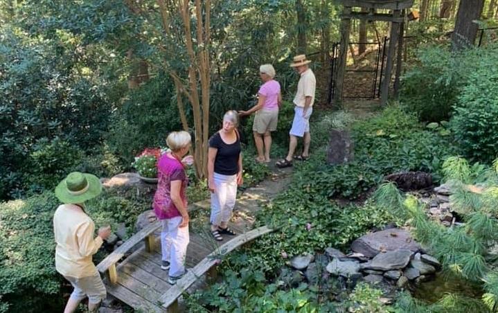 Potluck Event Sept 2019 in a garden